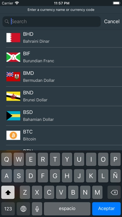 Currency Converter Travel screenshot-3