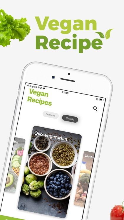 Vegan Meal Plan - Food Planner screenshot-0