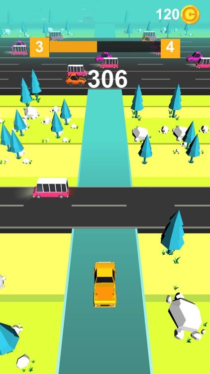 Traffic Tap Car: Fast Road Run