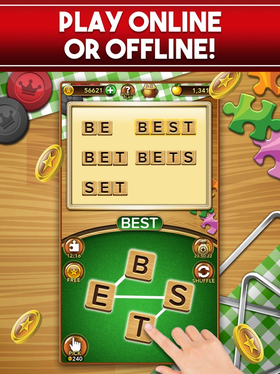 iPad Image of Word Collect: Word Games