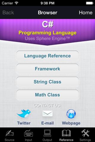 C# Programming Language - náhled