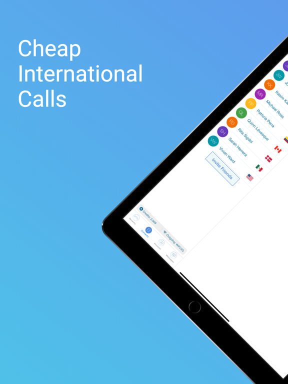 Free Calling & Cheap International Calls, Cheap SMS and Free Texting App by Voxofon - International Text and Free Messaging, VoIP & WiFi Calling for iPod and iPhone, Call & Text Free App to App screenshot