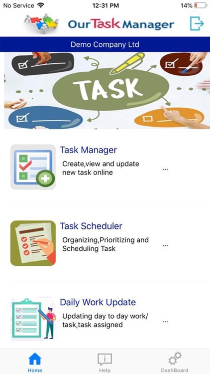 Our Task Manager screenshot-1