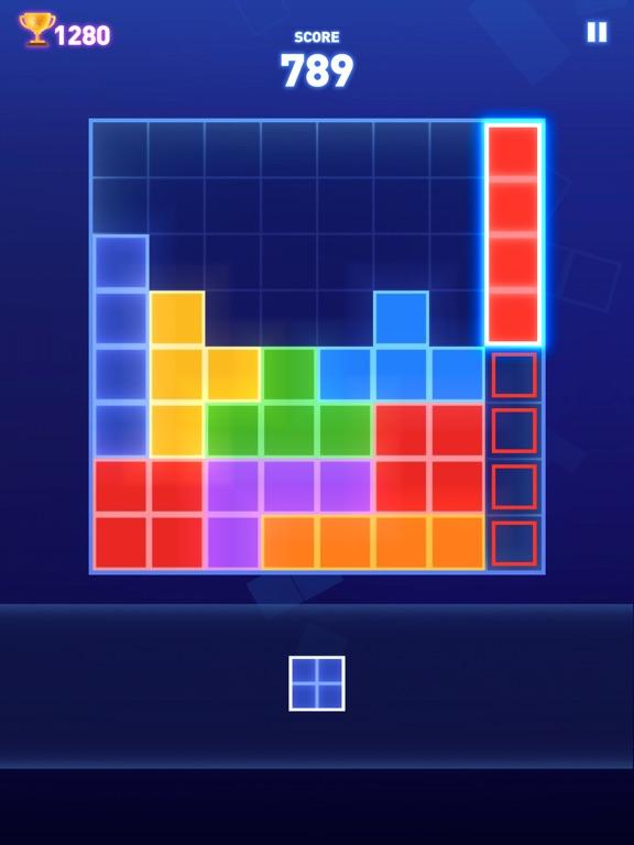 iPad Image of Block Puzzle - Brain Test Game