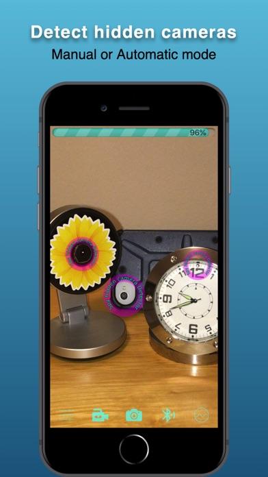 Spy hidden camera Detector Screenshots