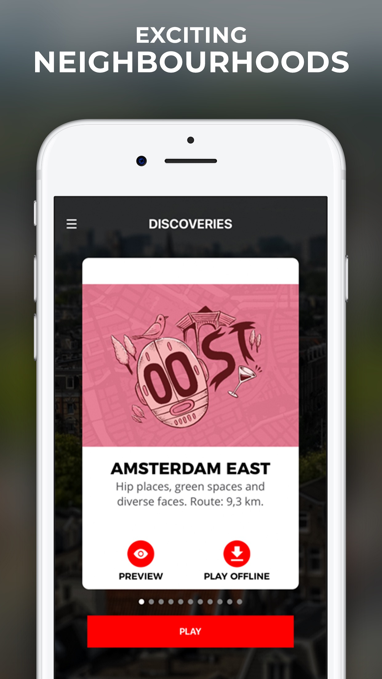 Screenshot do app Amsterdam Maps & Routes