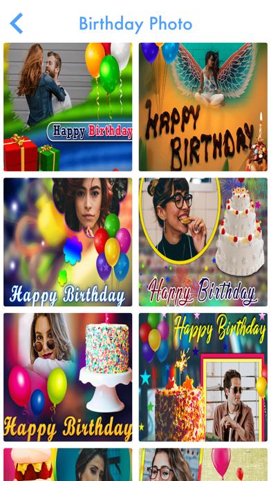 Birthday Photo Frame Maker 201 screenshot 4