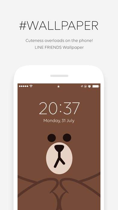 LINE FRIENDS - 待ち受け画像 / GIF画像のおすすめ画像2