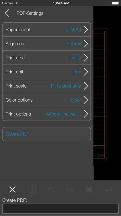 biiCADo Pro - 2D CAD App screenshot-3