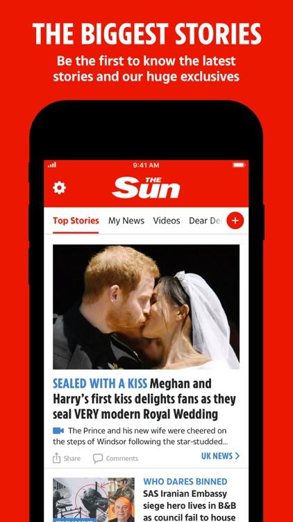 The Sun Mobile - Daily News screenshot-0