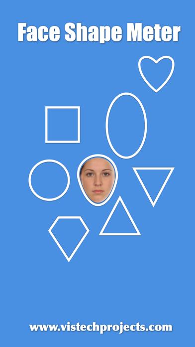 What face shape do I have? Screenshots