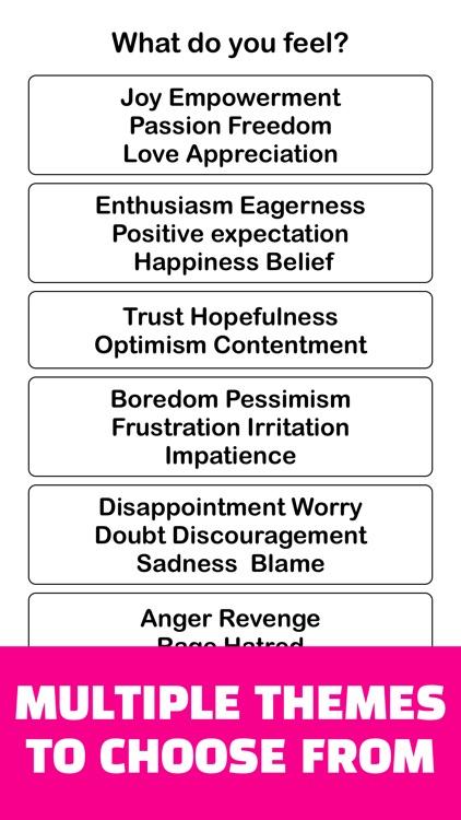 Joy : Emotional State Tracking screenshot-7