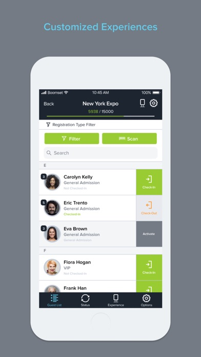 Event Guest List Easy Check-in