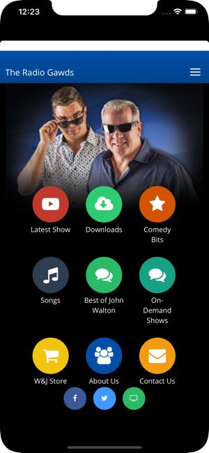 The Walton & Johnson Show on the App Store