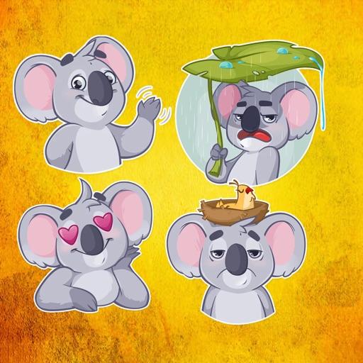 Cute Koala Stickers