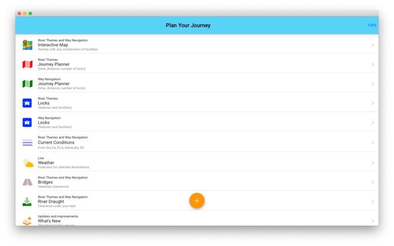 RiverThamesGuide скриншот программы 2