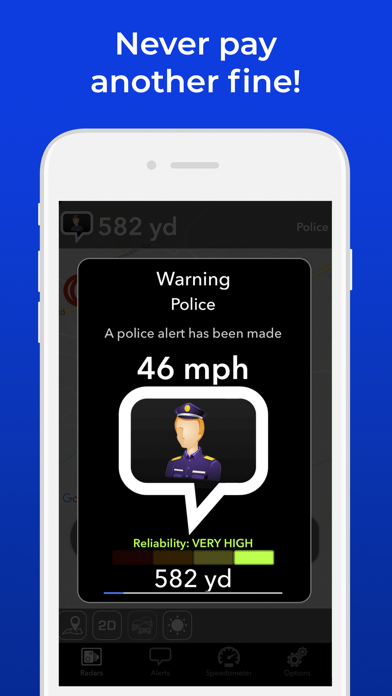 Radarbot: Speedcam Detector Screenshot