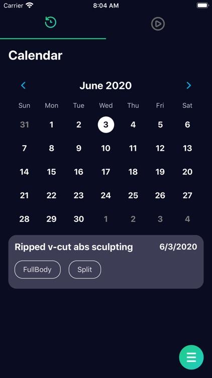 Your Workout screenshot-5