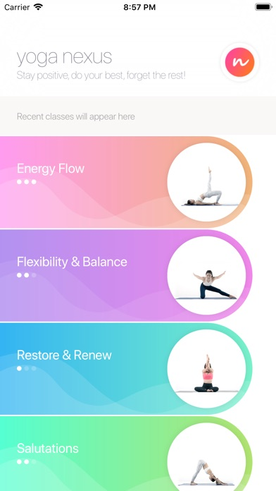 Screenshot for Yoga Nexus: Mind Body Workout in Turkey App Store