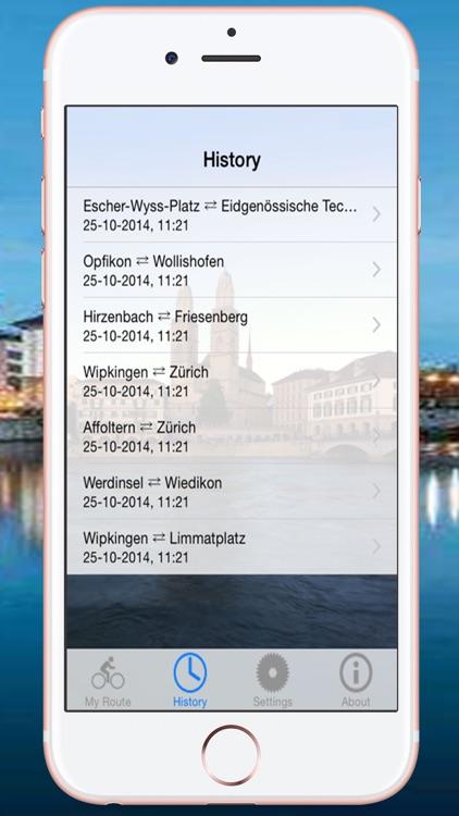 Health Route Guide - Zurich screenshot-3