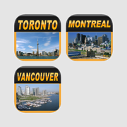 Canada Offline Map Bundle