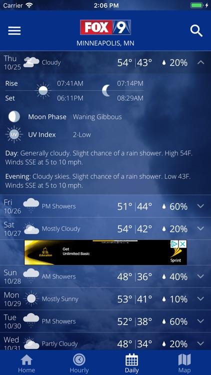 FOX 9 Weather – Radar & Alerts screenshot-4