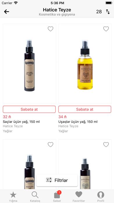 Screenshot for BioMart in Azerbaijan App Store