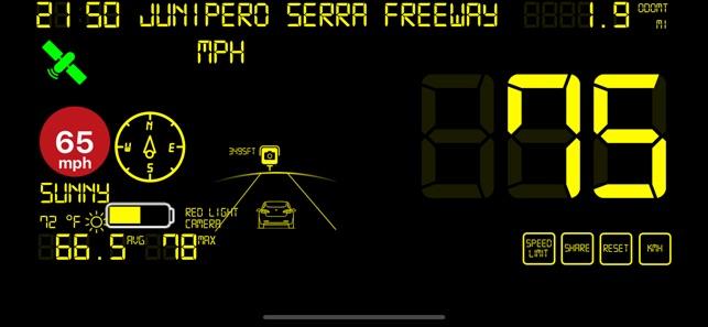 Speedmeter mph digital display on the App Store