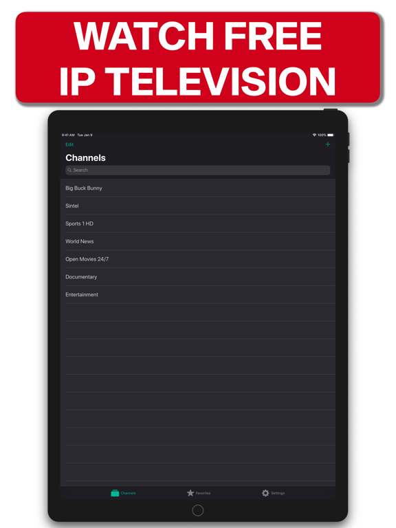 TV Streams - Watch Live IPTV IPA Cracked for iOS Free Download