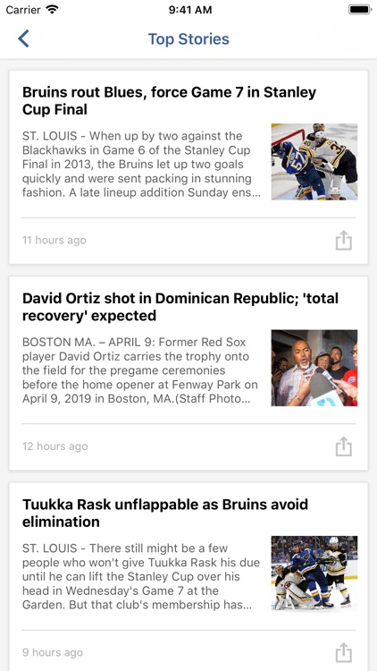 Boston Headline Sports