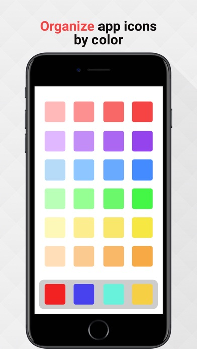 Color Harmony - Apps Organizer Screenshots