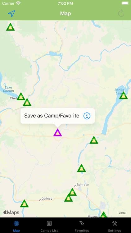 Washington – Camping & RV's screenshot-4