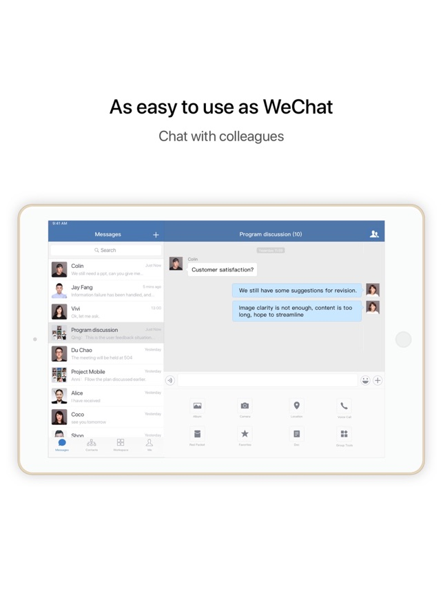 WeChat Work on the App Store