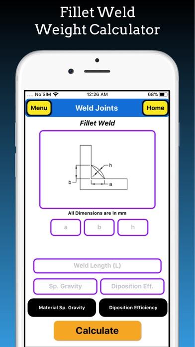 Welding Weight Calculator screenshot 6