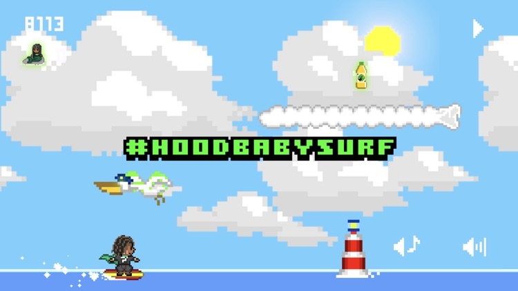#HoodBabySurf