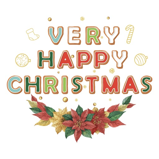 Merry Christmas - Custom Font icon