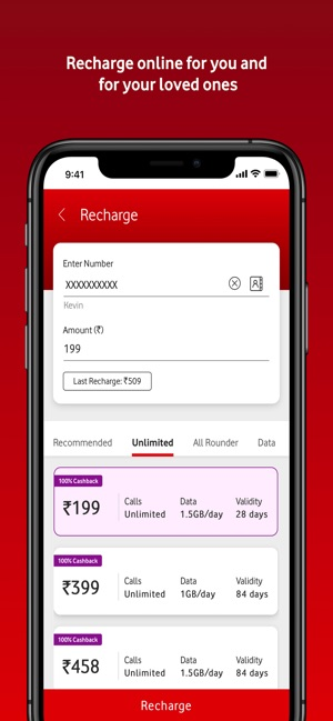 My Vodafone (India) on the App Store