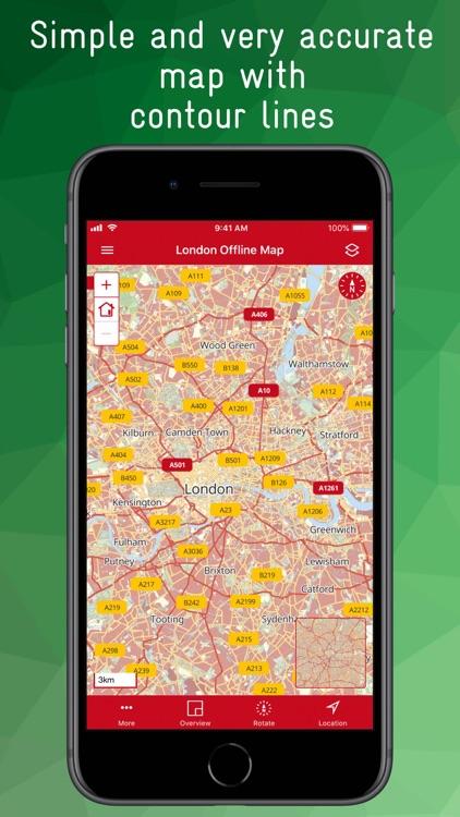 London Offline Map
