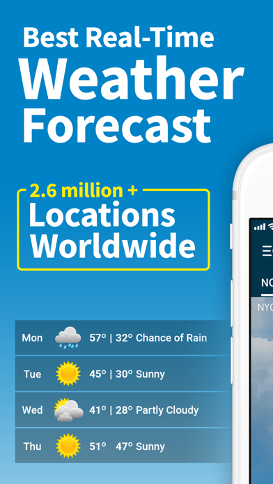 WeatherBug - Radar, Forecast screenshot one