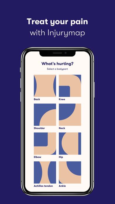 Injurymap screenshot one
