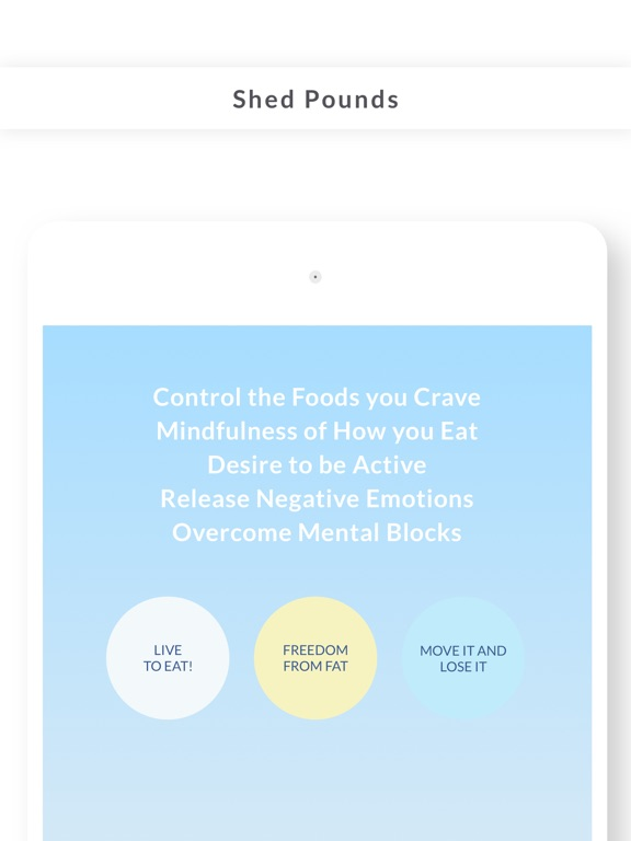 Weight Loss Hypnosis by Mindifi - Lose Fat with Better Health and Meditation screenshot