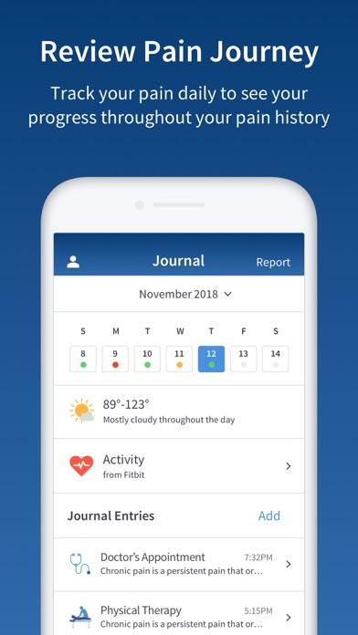 PainScale - Pain Tracker DiaryScreenshot of 4