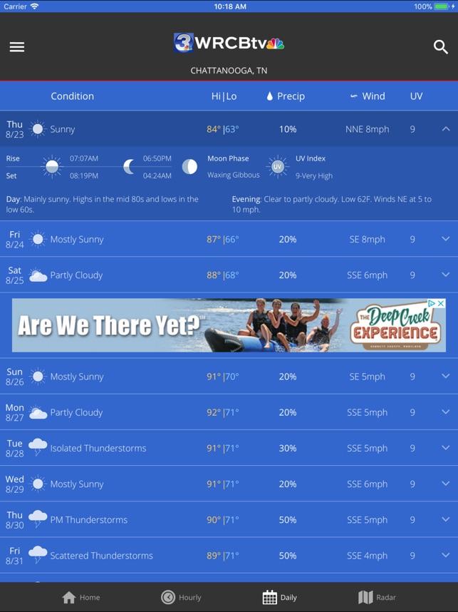 WRCB Radar on the App Store