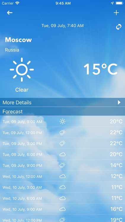 Weather Update Live screenshot-3
