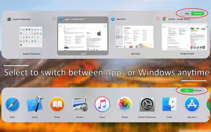 Tabber - Window Switcher for Mac