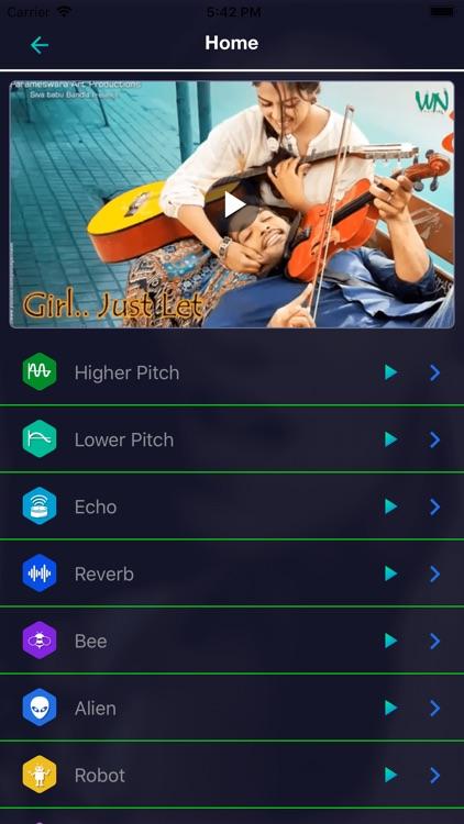 Video Voice Changer fun screenshot-3