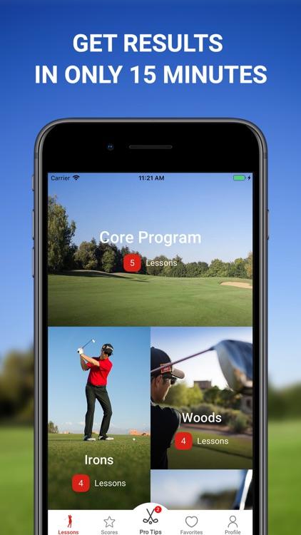 15 Minute Golf Coach Pro Tips screenshot-0