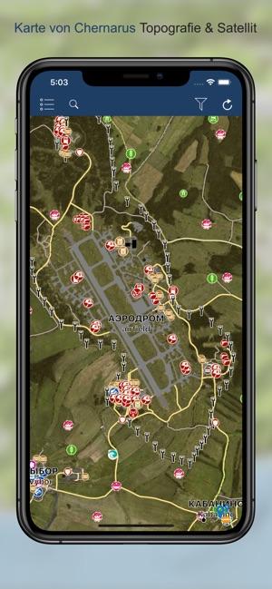 iZurvive - DayZ Map im App Store