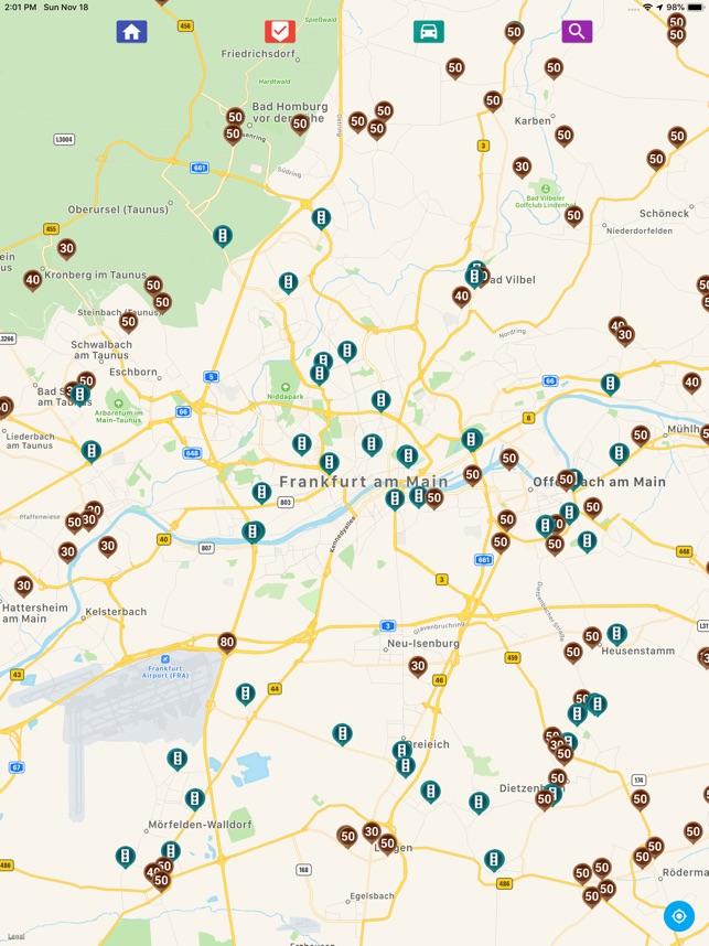 Blitzer Holland Karte.Blitzer Radarwarner Im App Store