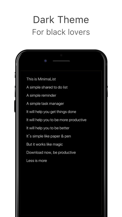 MinimaList Pro. screenshot-4